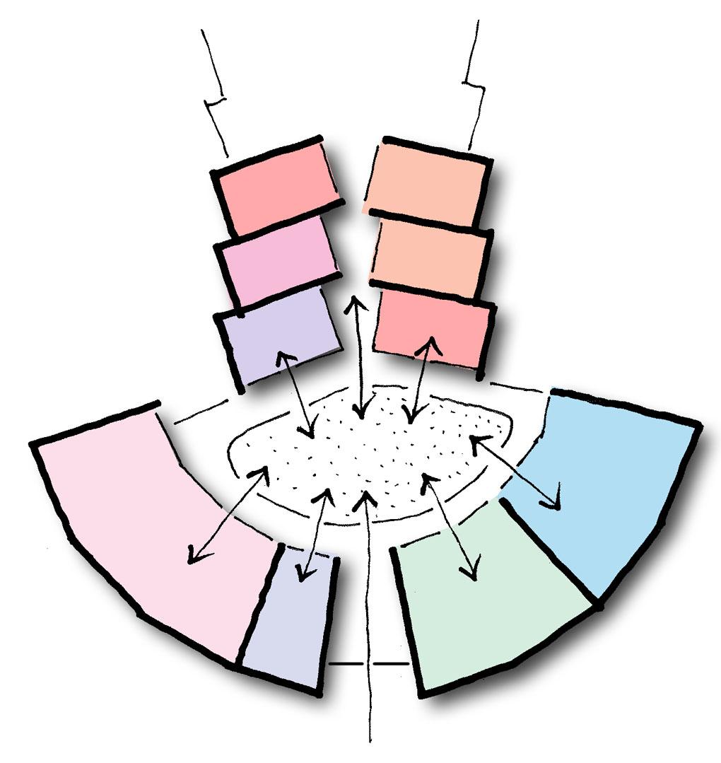 Gezondheidscentrum De Schooten conceptschets